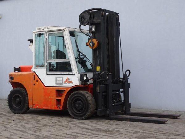 Dan Truck Wózek widłowy z napędem Diesel