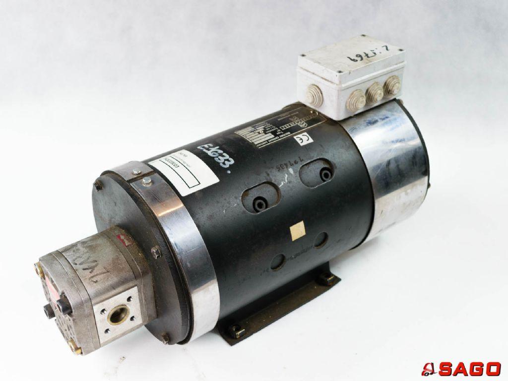 Baumann Silniki elektryczne i części do silników - Typ: Lenkpumpenaggregat 241769 HPI HYDROPERFECT INTERNATIONAL  Z.I. CHENNEVIERES -94430  FRANCE 70112761  P1DVK2010LL40  D02  C.5076118