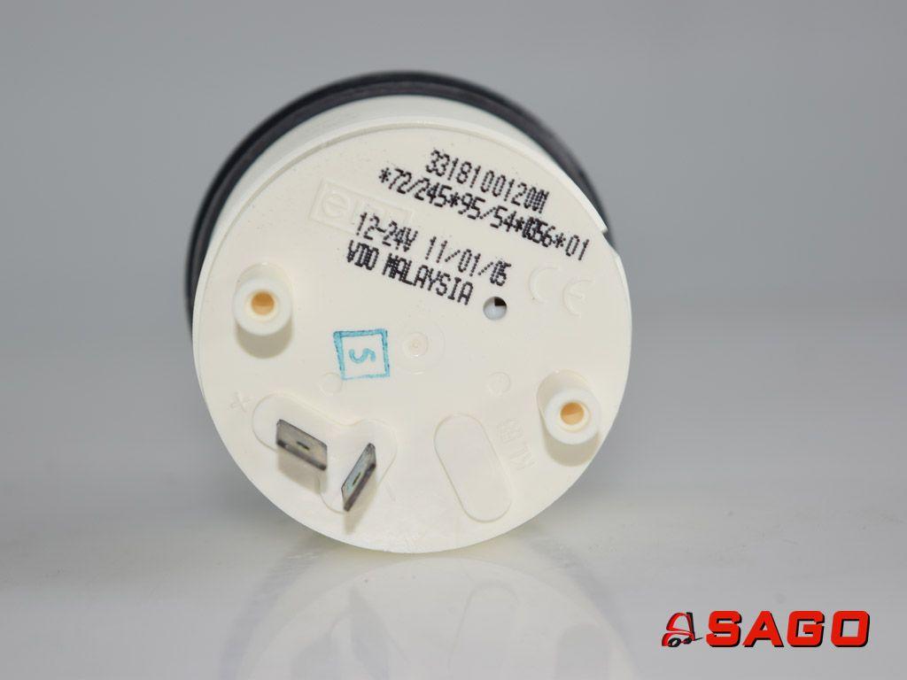 Baumann Elektryka - Typ: 200010476 Betriebsstundenzähler 920453.0003 9204530003 12-24V