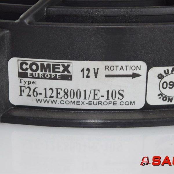 Bulmor Silniki elektryczne i części do silników - Typ: 127529 Lüfter COMEX 12V F26-12E8001/E-10S