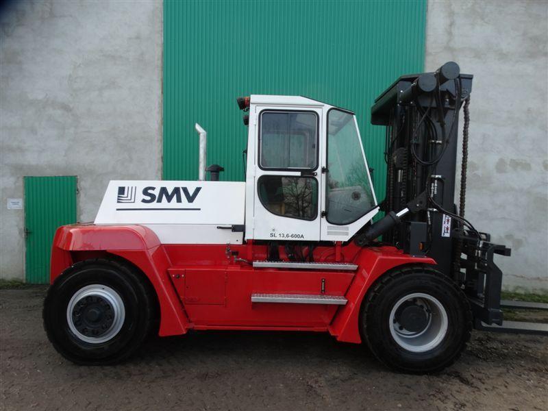 SMV Wózek widłowy dużych udźwigów