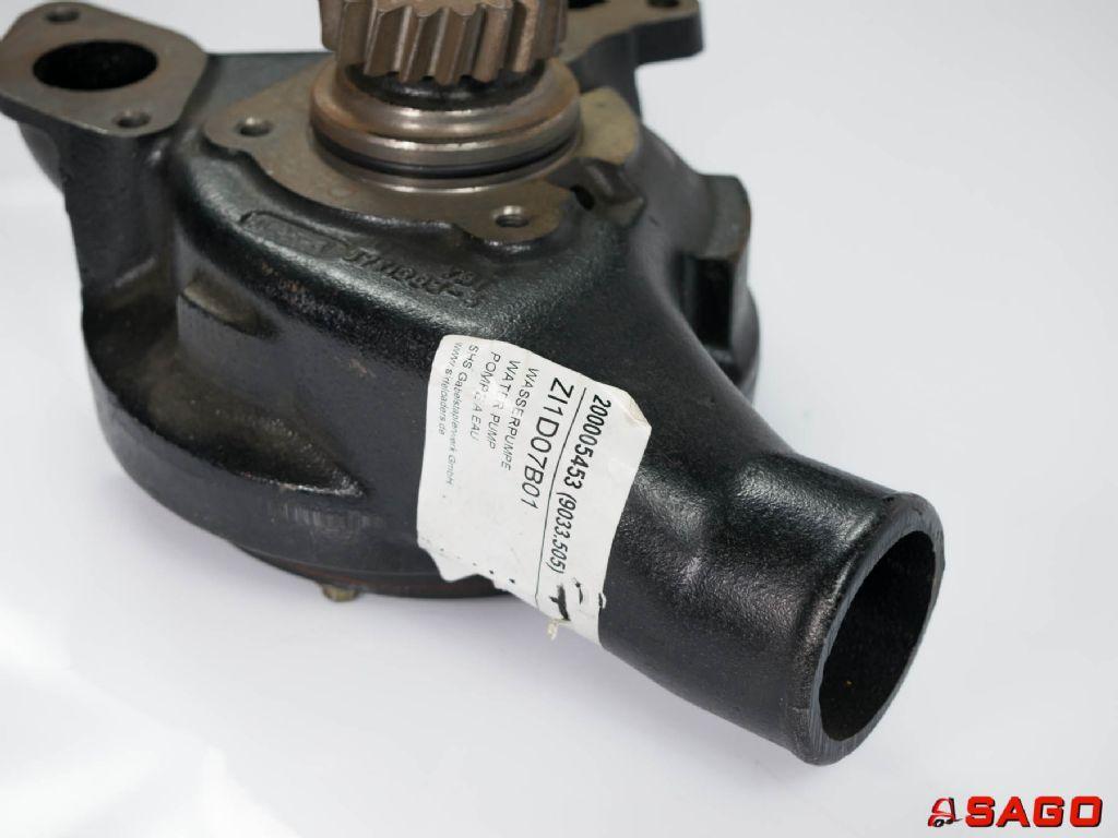 układy chłodzenia i wydechowe - Typ: Wasserpumpe 200005453 9033.505 9033505