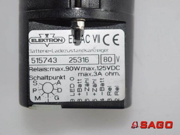 Kalmar Elektryka - Typ: ELAC780 accumeter 515743 25316 80V
