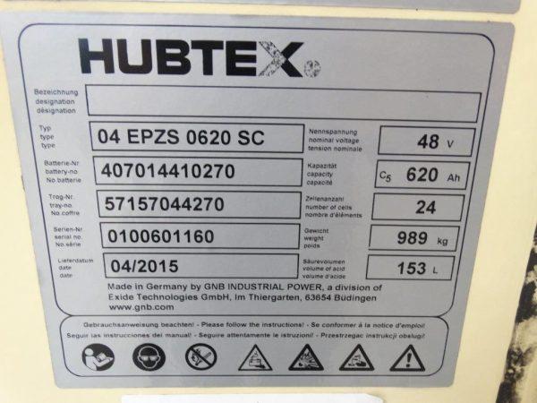 Hubtex Wózek widłowy boczny elektryczny