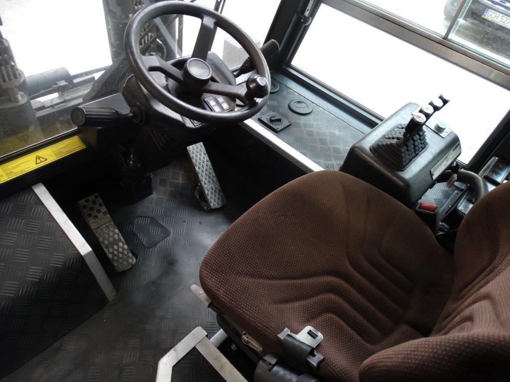 Dan Truck Wózek widłowy dużych udźwigów