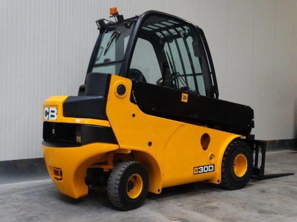 JCB Wózek widłowy z napędem Diesel