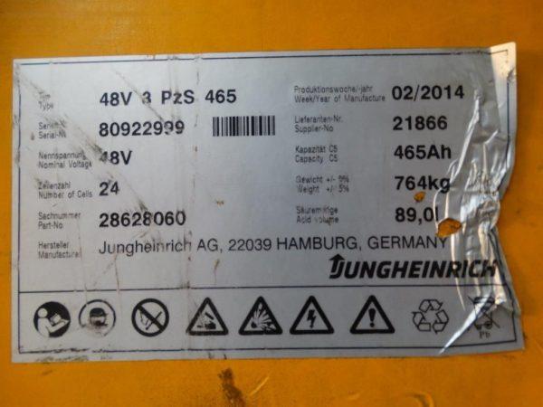 Jungheinrich Wózek wysokiego składowania
