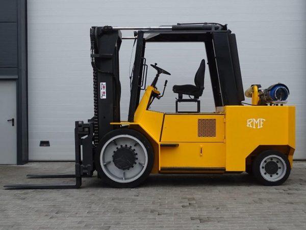 RMF Wózek widłowy kompaktowy LPG