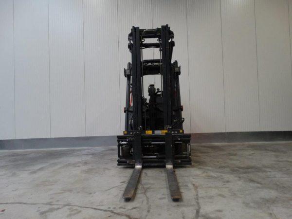Linde Wózek widłowy elektryczny 3-kołowy