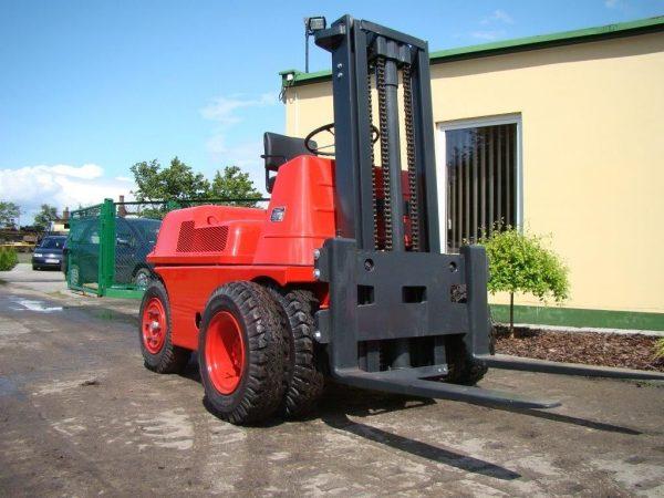 Gueldner Wózek widłowy z napędem Diesel