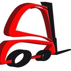 Toyota Wózek widłowy elektryczny 4-kołowy