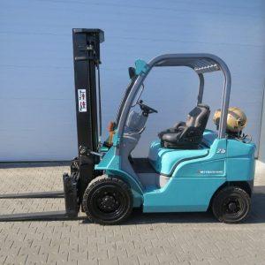 Mitsubishi Wózek widłowy z napędem LPG