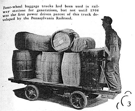 Wózek paletowy z 1906 roku
