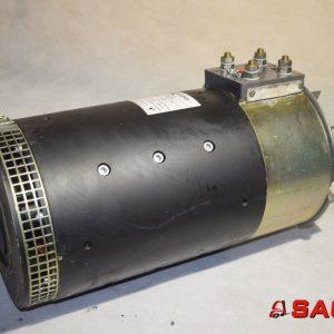 Kalmar Silniki elektryczne i części do silników - Typ: 922480.0010 TTL225C 80V 384A 2000min ClassH  25Kw  Max.7500 min