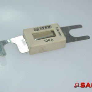 Baumann Elektryczne sterowanie i komponenty - Typ: 40186 Streifensicherung 100A