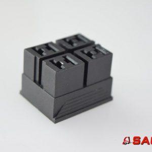 Baumann Elektryczne sterowanie i komponenty - Typ: 200010006 Steckverbinder  A-B/1-2