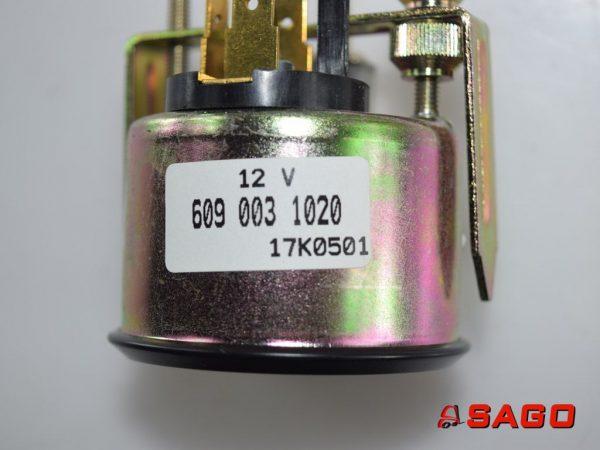 Baumann Elektryka - Typ: 84231 Kraftstoffuhr 12V 609 003 1020