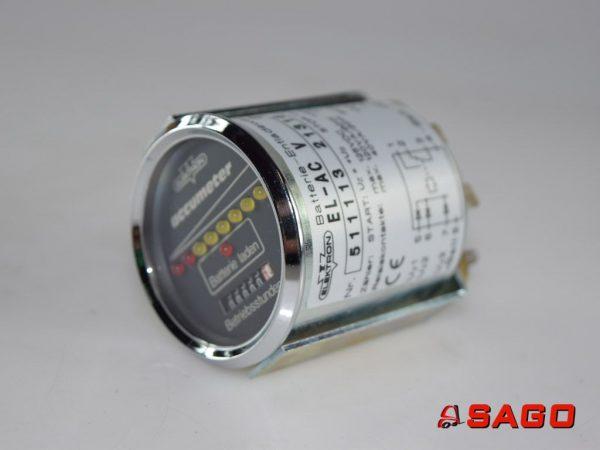 Kalmar Elektryka - Typ: 51111321316 Accumeter 80V