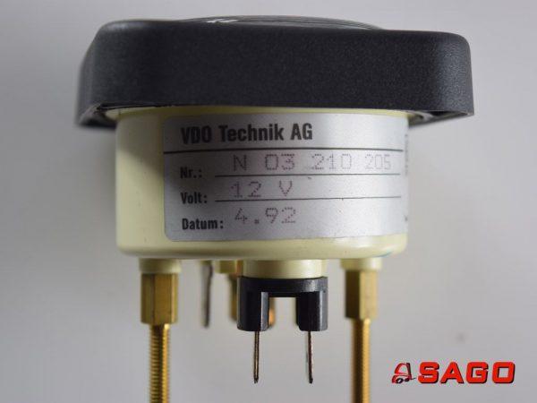 Baumann Elektryka - Typ: 57262 Plattformneigeanzeiger N 03 210 205 12V