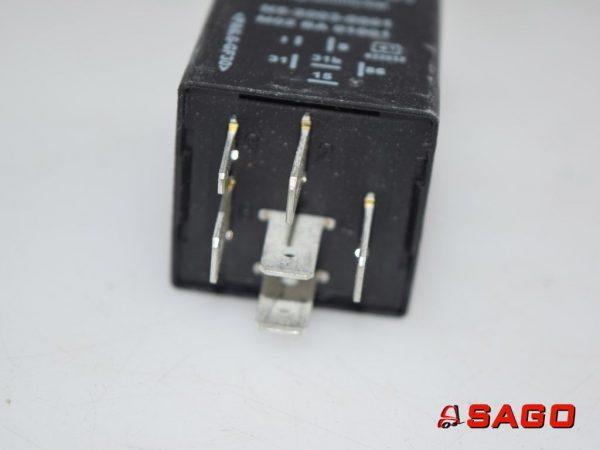 Terberg Elektryczne sterowanie i komponenty - Typ: 25023262 RELAIS INTERV
