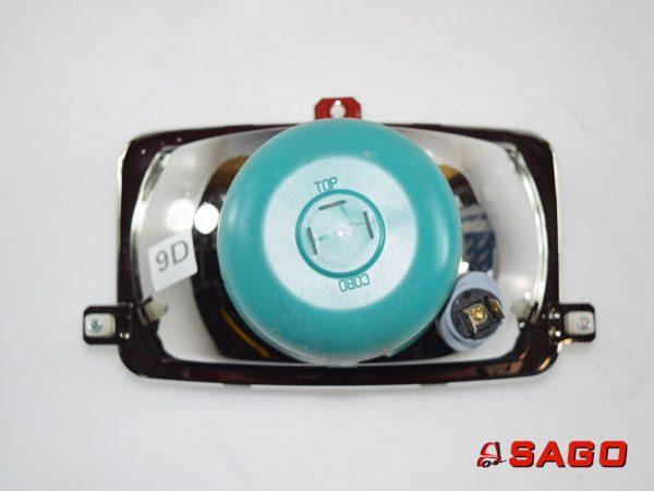 Terberg Elektryka - Typ: 25023794 LAMPGLAS KOPLAMP