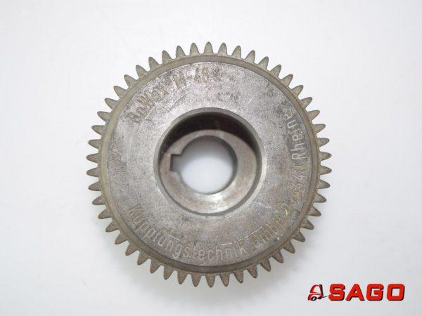 Jumbo Układ kierowniczy i napęd - Typ: 85671 Flansch