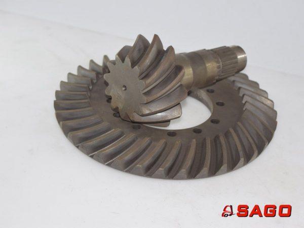 Jumbo Układ kierowniczy i napęd - Typ: 74203 Radsatz