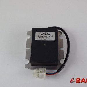 Linde Elektryczne sterowanie i komponenty - Typ: SPANNUNGSWANDLER 7917401235 79174 01 235