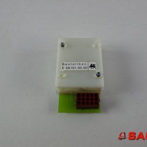 Linde Elektryczne sterowanie i komponenty - Typ: BAUSTEIN E59.151.00.00. 591510000