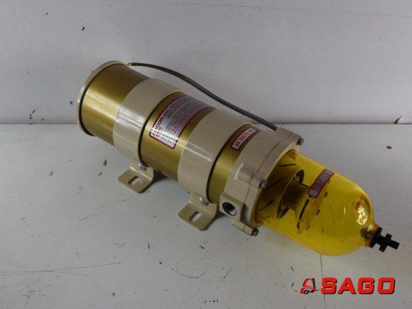 układy chłodzenia i wydechowe - Typ: FILTER AS9TU0105 209-521-7660