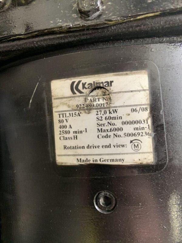 Kalmar Silniki elektryczne i części do silników - Typ: TTL315A