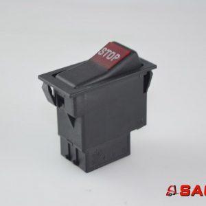 Elektryczne sterowanie i komponenty - Typ: 255956 Kippschalter Handbremse