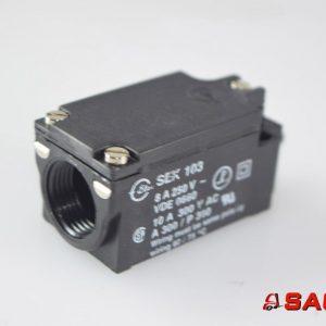Kalmar Elektryczne sterowanie i komponenty - Typ: 9033.467 Microschalter sek 103 8A 250V VDE0660