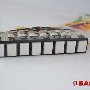 Baumann Elektryczne sterowanie i komponenty - Typ: 44996 Tastenstreifen 8fach