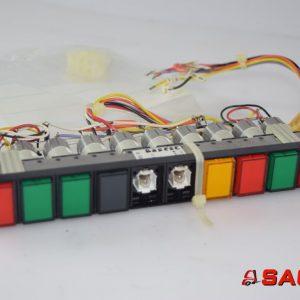 Baumann Elektryczne sterowanie i komponenty - Typ: 44997 Tastenstreifen 10 f.