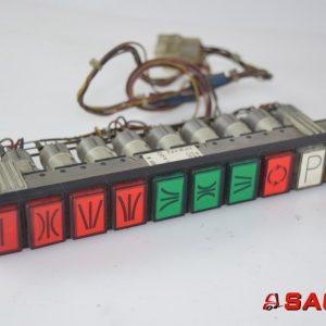Baumann Elektryczne sterowanie i komponenty - Typ: 49407 Tastenstreifen 10 f.