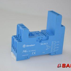 Baumann Elektryczne sterowanie i komponenty - Typ: 200015224 Sockel FINDER 10A 300VAC