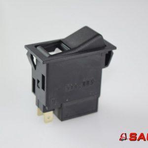 Baumann Elektryczne sterowanie i komponenty - Typ: JU92001810 Tastenkippschalter