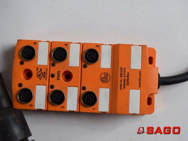 Elektryczne sterowanie i komponenty - Typ: IFM SPLITTERBOX 924504.2041